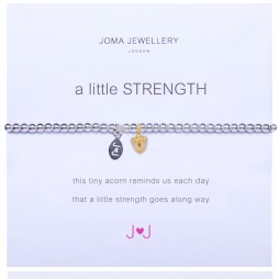 Joma Jewellery a little Strength Silver Bracelet