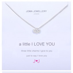 Joma Jewellery a little I Love You Silver Necklace
