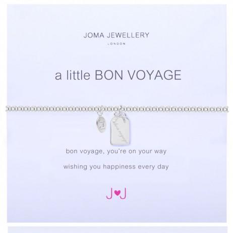 Joma Jewellery a little Bon Voyage Silver Bracelet 1224