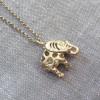 Hot Tomato Jewellery Gold Elephant Necklace