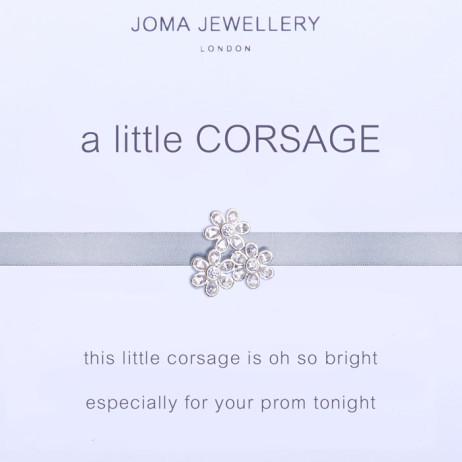 Joma Jewellery a little Corsage Silver Bracelet