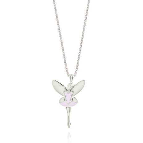 Joma Jewellery Girls Lilac Fiona Fairy Necklace