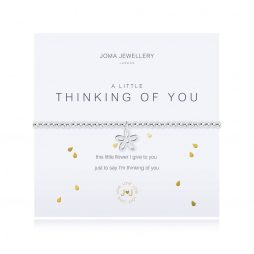 Joma Jewellery a little Thinking of You Silver Bracelet 2702