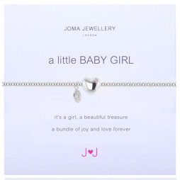 Joma Jewellery a little Baby Girl Silver Bracelet