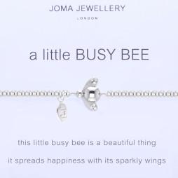 Joma Jewellery a little Busy Bee Silver Bracelet 1095