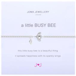 Joma Jewellery a little Busy Bee Silver Bracelet