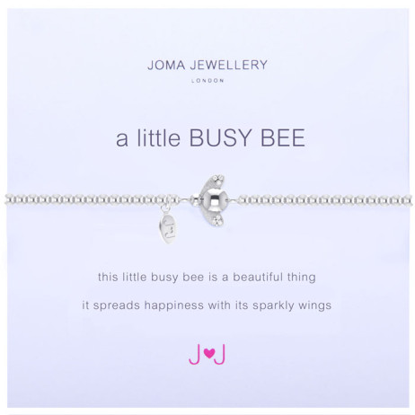 Joma Jewellery a little Busy Bee Silver Bracelet 1095