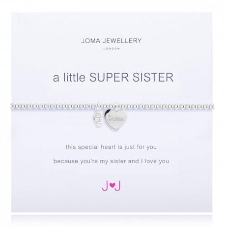 Joma Jewellery a little Super Sister Silver Bracelet 1441