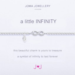Joma Jewellery a little Infinity Silver Plated Bracelet 1455