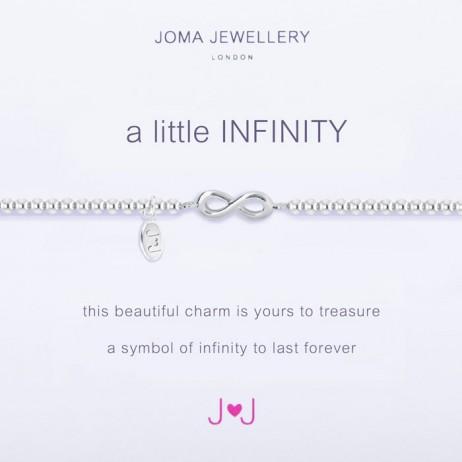 Joma Jewellery a little Infinity Silver Bracelet