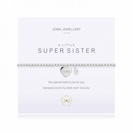 Joma Jewellery a little Super Sister Silver Bracelet 1441