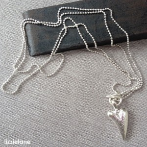 Free Pilgrim Heart Necklace