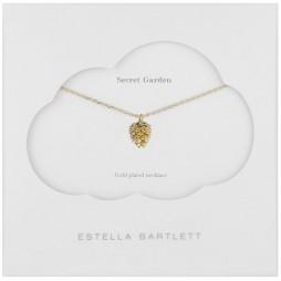 Estella Bartlett Gold Plated Pine Cone Necklace