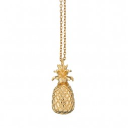 Estella Bartlett Gold Plated Pineapple Necklace