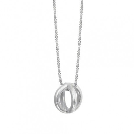 Sence Copenhagen Silver Plated Harmony Sphere Necklace