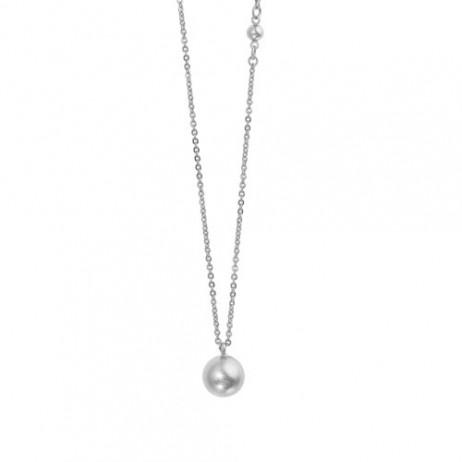 Sence Copenhagen Silver Plated Globe Short Necklace
