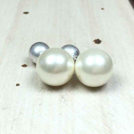Sence Copenhagen Mother of Pearl Stud Earrings