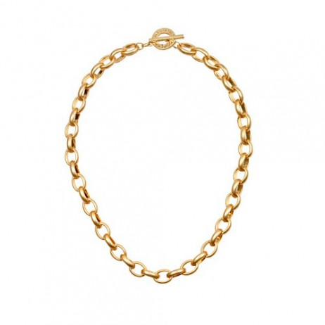 Sence Copenhagen Essentials Chunky Gold Plated Links Necklace