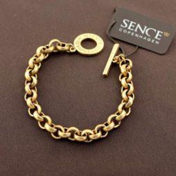 Sence Copenhagen Essentials Gold Plated Bracelet