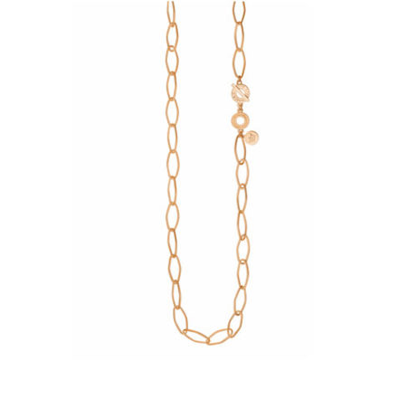 Sence Copenhagen Essentials Rose Gold Plated Links Necklace