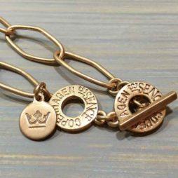 Sence Copenhagen Essentials Rose Gold Plated Links Necklace
