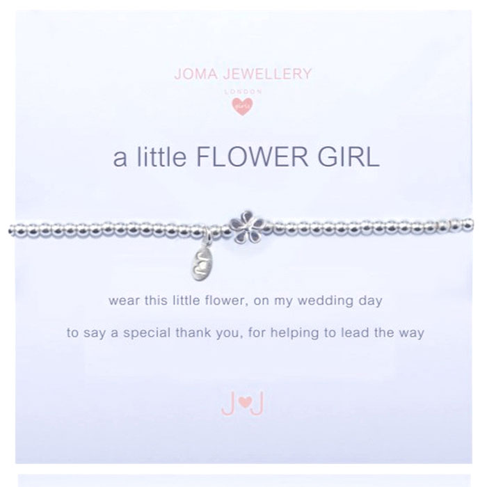 A Little Thank You Silver Bracelet By Joma Jewellery TZWU2P