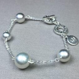 Sence Copenhagen Silver Plated Globe Bracelet