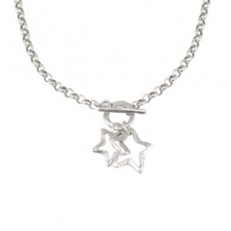 Danon Jewellery Silver Stars Necklace