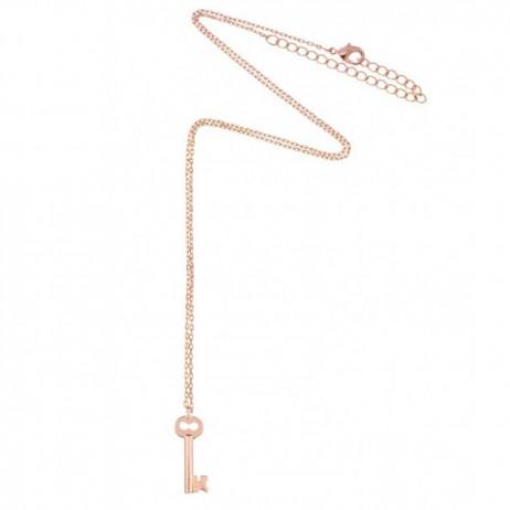 Estella Bartlett Rose Gold Key Necklace
