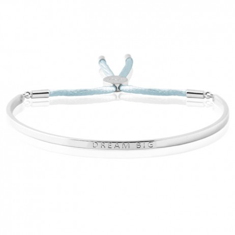 Joma Jewellery Silver Dream Big Message Bangle 1553 EOL