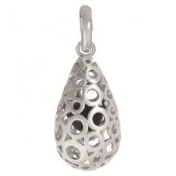 Sence Copenhagen Worn Silver Signature Charm