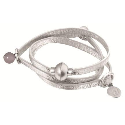 Sence Copenhagen Signature Silver Bracelet with Jade