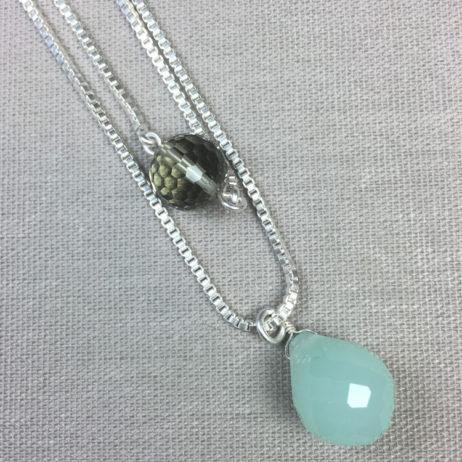 Sence Copenhagen California Love Silver Necklace