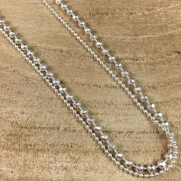Sence Copenhagen Worn Silver Hippie Bracelet Necklace