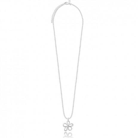 Joma Jewellery Daisy Daze Silver Crystal Necklace 1567 *