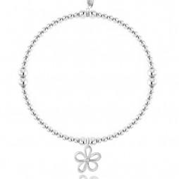 Joma Jewellery Daisy Daze Silver Bracelet