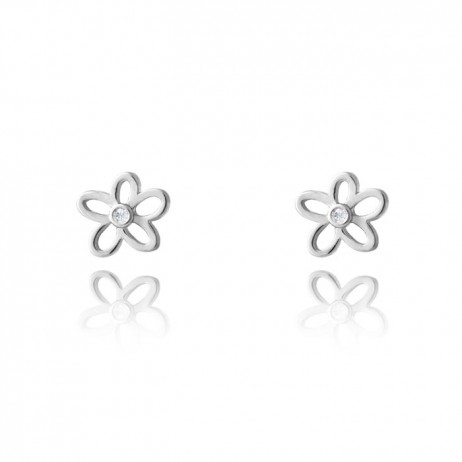 Joma Jewellery Daisy Daze Silver Earrings