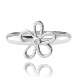Joma Jewellery Daisy Daze Silver Ring