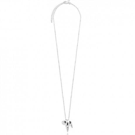 Joma Jewellery Serena Seashells Silver Necklace 1609
