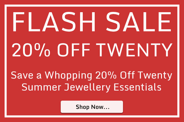 20 Off Twenty Summer Jewellery Essentials