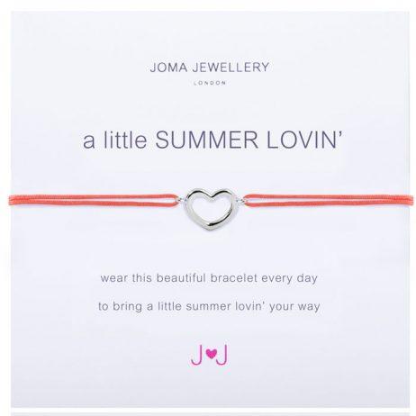 Joma Jewellery a little Summer Lovin Silver Bracelet 1656