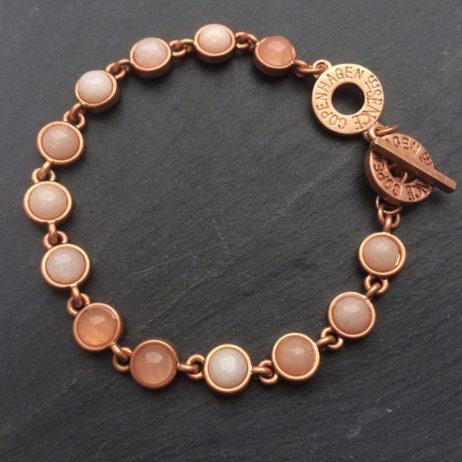Sence Copenhagen Rose Gold Aventurine Barcelet