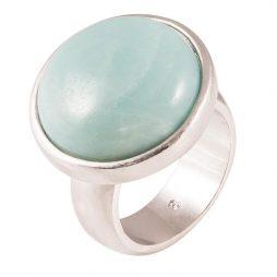 SENCE Copenhagen Amazonite Silver Ring