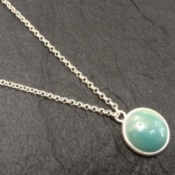 Sence Copenhagen Amazonite Silver Necklace