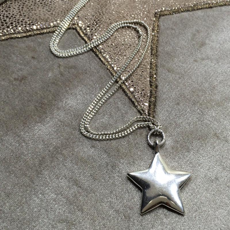 1b736bdcab947 Hultquist Jewellery Long Silver Star Pendant Necklace