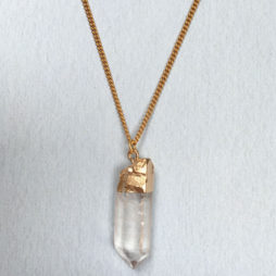 Hultquist Jewellery Gold Semi Precious Crystal Short Necklace