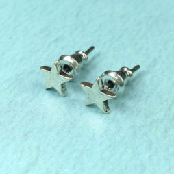 Hultquist Jewellery Silver Mini Star Earrings