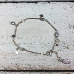 Hultquist Jewellery Semi Precious Rose Gold Star Bracelet