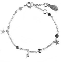 Hultquist Jewellery Semi Precious Silver Star Bracelet