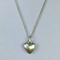 Hultquist Jewellery Mini Silver Heart Necklace